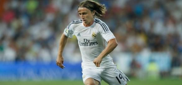 Luka Modric reapareció en este partido