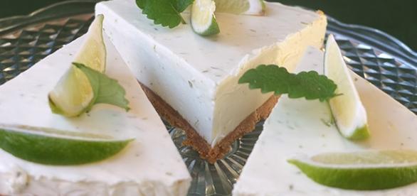 Receta: Pastel de queso y lima