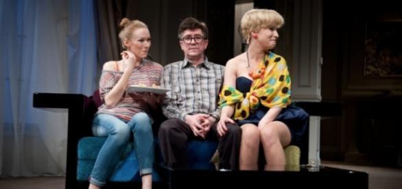 """""""Najdroższy"""" w Teatrze Współczesnym. Fot.M.Hueckel"""