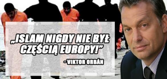 Viktor Orbán ponownie broni Europę przed islamem