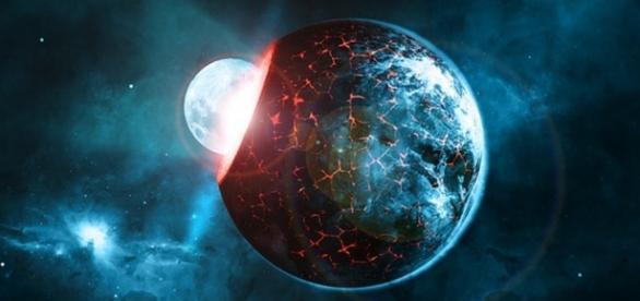 Cele două stele se află lângă Tarantula Nebula.