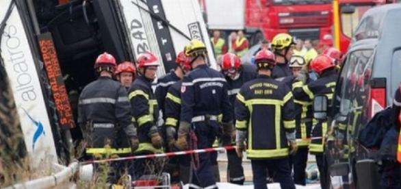 Grav accident produs în sud-vestul Franței