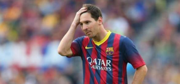 Lionel Messi pode ir para Inglaterra.
