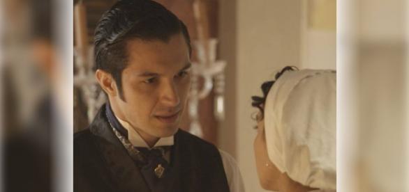Roberto e Anita se encontram em Além do Tempo