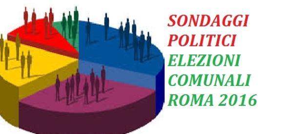 Sondaggi politici Elezioni Comunali Roma 2016