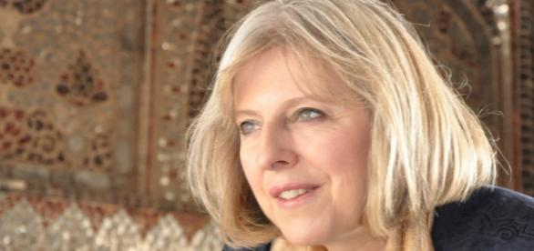 UK Home Secretary Theresa May MP