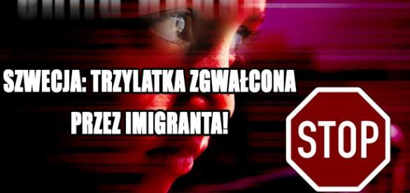 W Szwecji imigrant zgwałcił trzyletnie dziecko