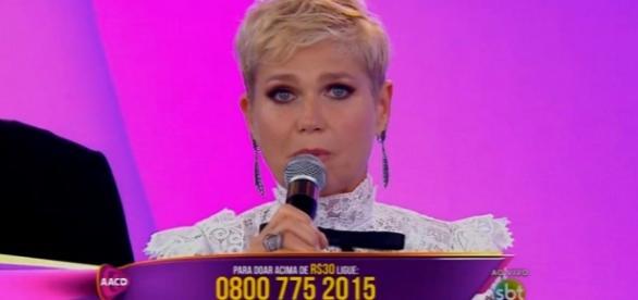 Xuxa no Teleton (Reprodução/SBT)