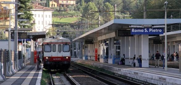 De la Gara San Pietro, la Termini, doar cu bilet