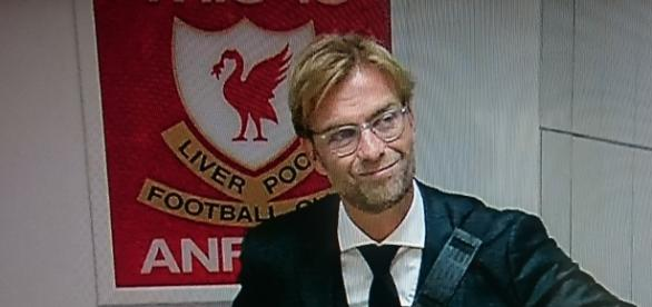 Jurgen Klopp arrives at Anfield