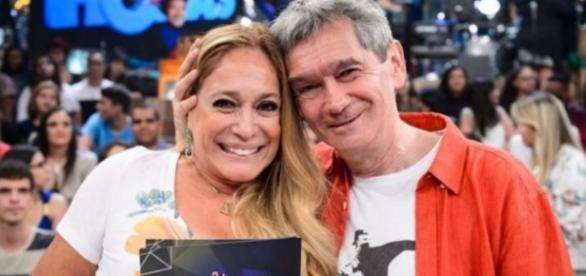 Susana Vieira dá fora em sexóloga do Altas Horas