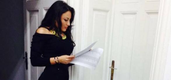 Alexandra Dobre și discursul pregătit de Oprea