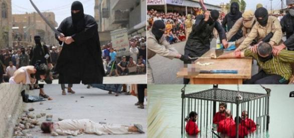 Decapitări, lapidări, înecări, amputări opera ISIS