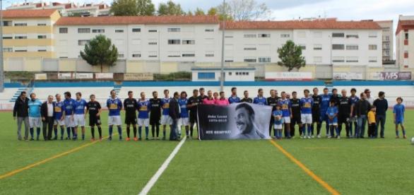 Ex-companheiros prestaram homenagem a João Lucas.