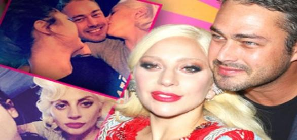 Lady Gaga, taylos Kinney e Monica Raymund