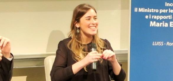 Maria Elena Boschi, ministro per le Riforme