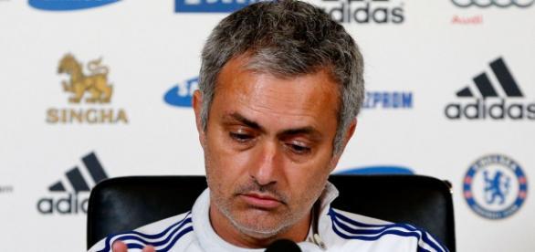 Mourinho durante una rueda de prensa
