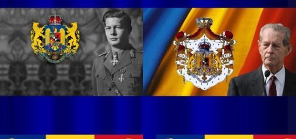 Regele Mihai I al Romaniei;foto:Google;colaj:Luana