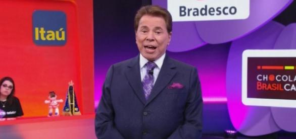 Silvio Santos esculacha a Globo na audiência