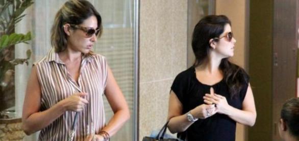 Giselle Itié nega romance com Samara Felippo