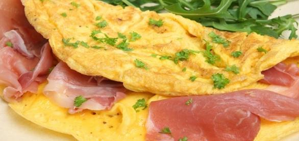 Panqueca Dukan para o café da manhã