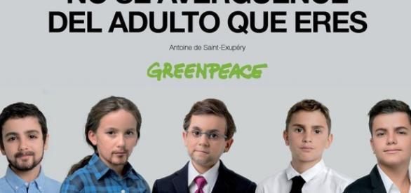Campaña de Greenpeace de los candidatos españoles