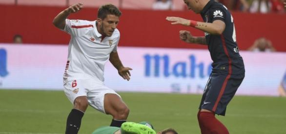 Carriço, en un partido  Foto: Sevilla FC