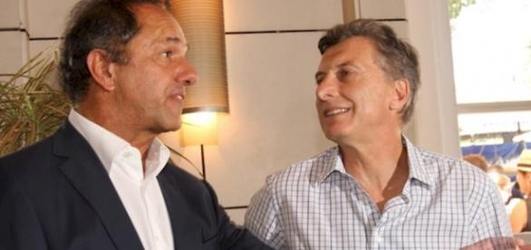 Macri y Scioli inspiraron la Cumbia del Balotaje