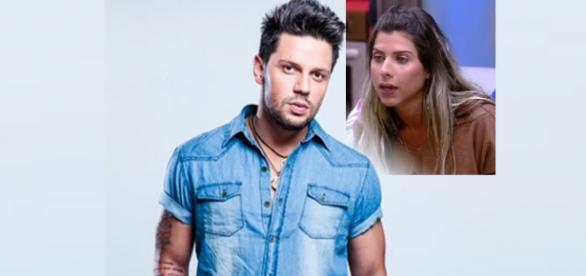 Mãe de Ana Paula está chateada com Thiago