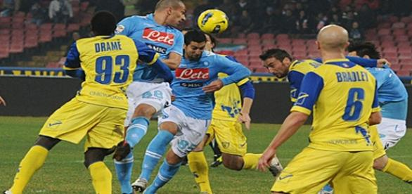 Napoli turned second in serie A