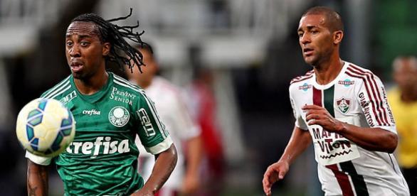 Palmeiras e Fluminense se enfrentam em São Paulo