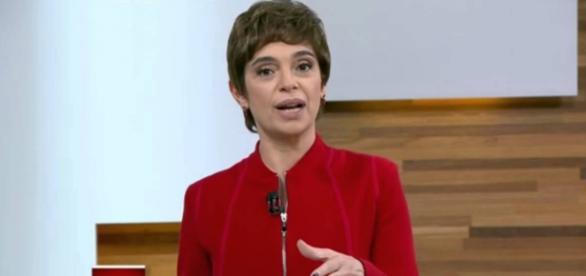 Renata Lo Prete estreia no Jornal da Globo