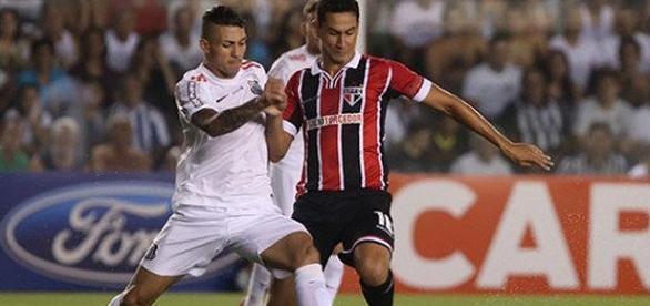 Santos e São Paulo se enfrentam na Vila Belmiro