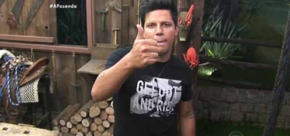Thiago Servo não terá substituto em 'A Fazenda'
