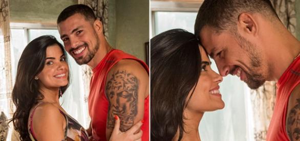 Juliano (Cauã Reymond) e Tóia amor que voltará?