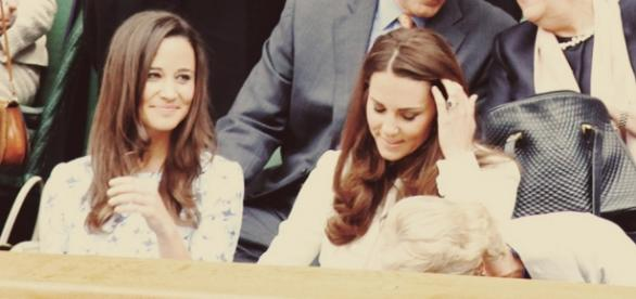 Pippa Middleton und Kate Middleton