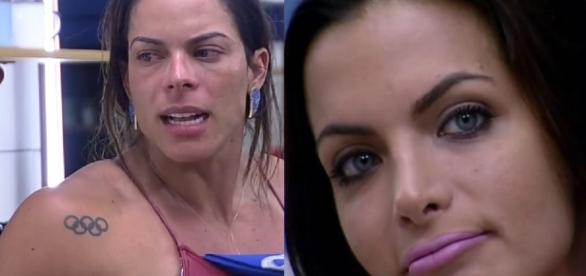 Rebeca e Carla se enfrentam na 5ª Roça