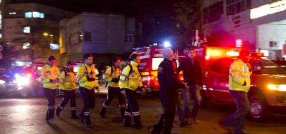 Sessenta ambulâncias se deslocaram a boate.