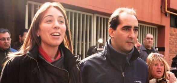 Vidal y su marido Tagliaferro, el nuevo poder