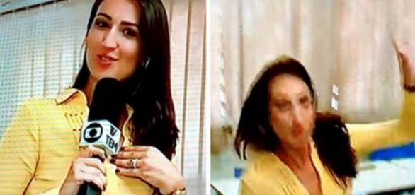 Vídeo: repórter da Globo leva tombo ao vivo