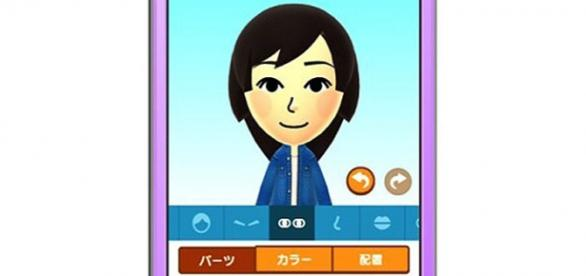 """Imagem de apresentação do jogo """"Miitomo""""."""