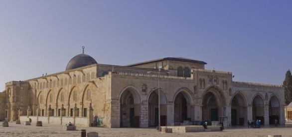 La famosa Mezquita de Al Aqsa.
