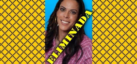 Rebeca Gusmão é eliminada em A Fazenda 8