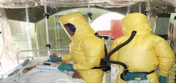 Isolamento de pacientes infectados