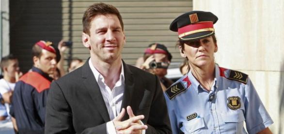 Leo Messi sonriente. Fuente: La vanguardia