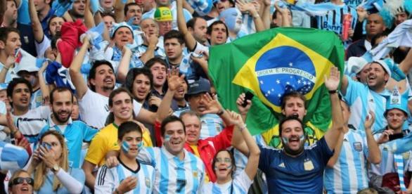 Argentina vs Brasil el 12 de noviembre