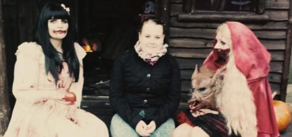 Böse Mädchen: Schneewittchen, Kira u. Rotkäppchen