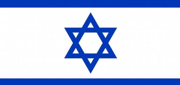 Esta es una imagen de la bandera de Israel