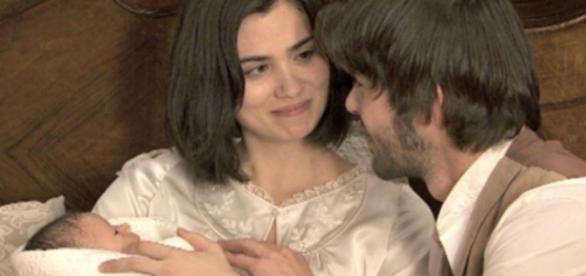 Foto da dmag di Maria, Gonzalo e la figlia.