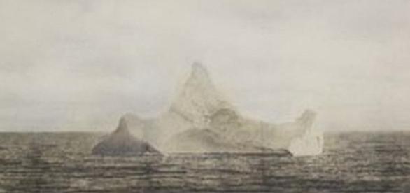 Foto posible Iceberg con el que chocó el Titanic